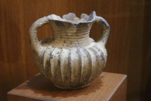2500 year old Acheamenid vase in the museum