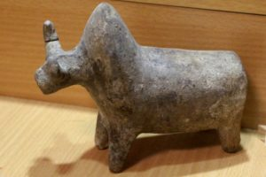 a bull statue, from Parhian times, some 2000 year old