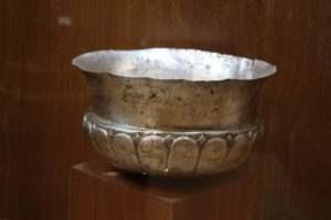 another Acheamenid artefact, a silver bowl