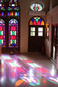 the Chehel Sotun palace windows