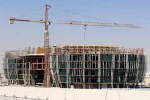 construction in Lusail City