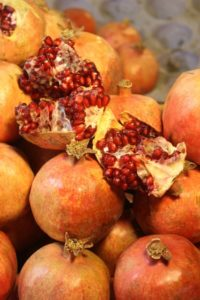 pomegranate, that quintessential Middle Eastern fruit