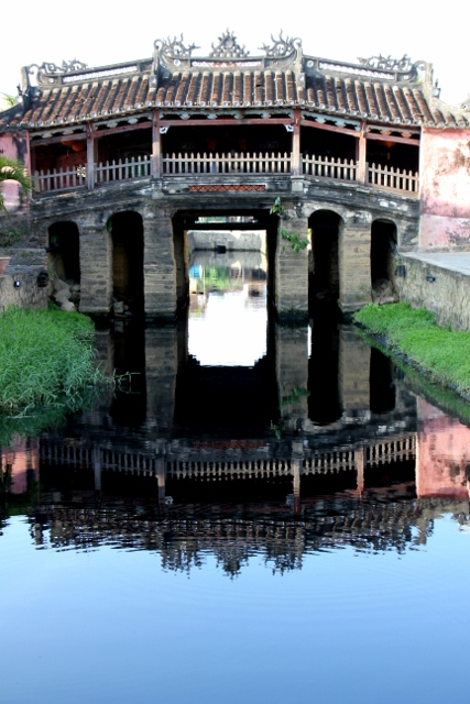 Japanese Bridge, the hallmark of Hoi An