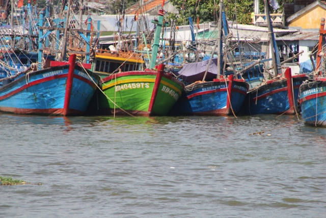 More fishing boats