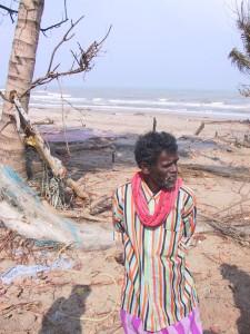 Kallar village, Nagapattinam, Alaghar Sami telling about the tsunami