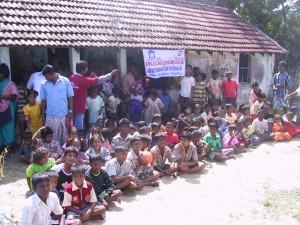 Children from Chinnavaikal Island, Cuddalore