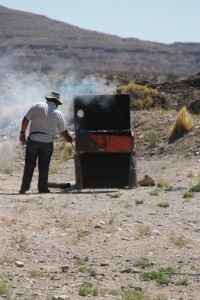 even in the middle of nowhere, asado!