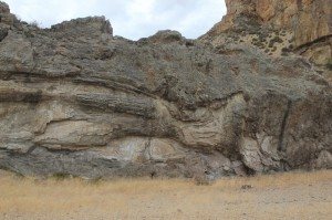 rapidly cooled and solidified lava flows (compare this with the photos from the Erta Ale volcano in Ethiopia)