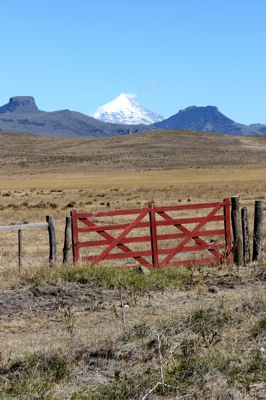 Lanin from the north side