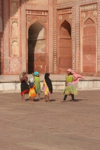 and the children of Fatehpur Sikri