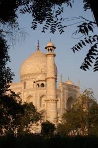 and a less conventional photo of the Taj Mahal