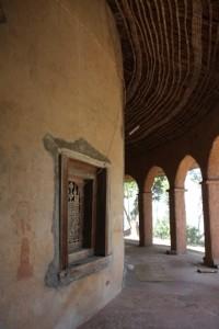 verandah around Kibran Gabrael Monastery