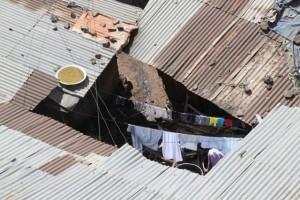 Gondar neighbourhood from above