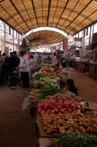 market hall in Qincheng neighbourhood