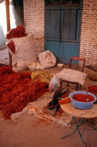 chilies are one of the main products here