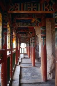 balcony in the Mati Si temple