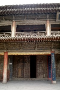 small temple in Zhangye