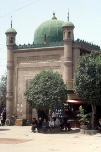 the mosque in the old town