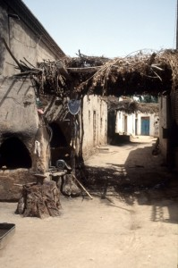 hutong in Kuqa