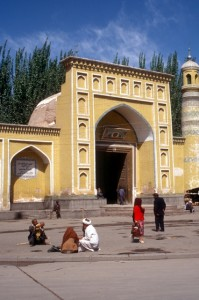 the main mosque in Kashgar