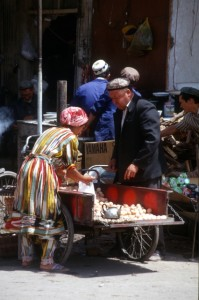 egg seller and buyer
