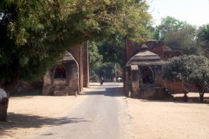 Tharaba Gate, the only remaining original entrance to the town