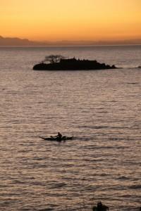 early morning view of Lake Tana