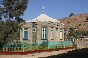 the chapel containing the Ark of the Covenant