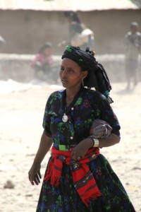 local woman in Senbete