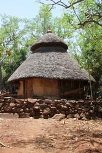 typical tukul, in Mecheke village