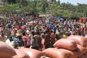 market scene in Karat-Konso