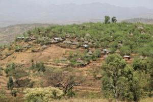 hill top Konso village