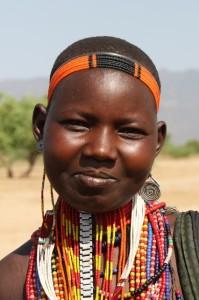 Arbore girl, South Omo Valley