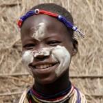 young Karo girl