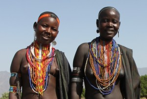 two Arbore girls