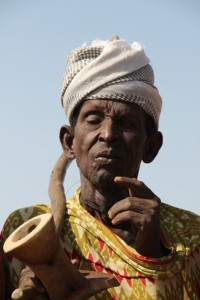 Arbore man, I am unsure about the authenticity of his smoking pipe