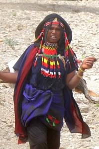 Afar woman