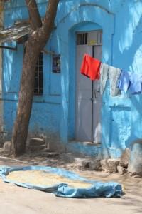 colourful house in Dire Dawa