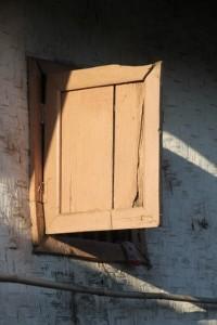 a window in the village