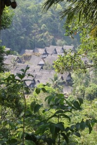 Kampung Naga, down in the valley