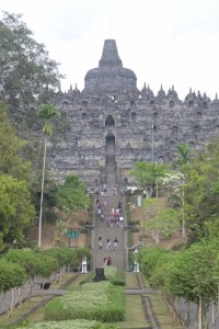approach to the temple