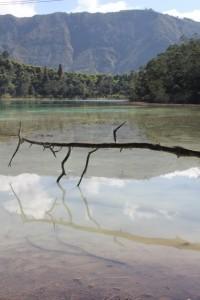 the lake, Telaga Warna