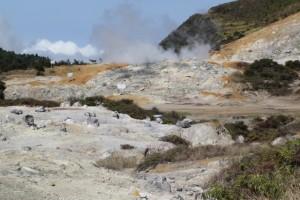 Kawah Sibentang, the crater