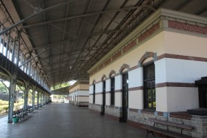 the Koning Willem I station