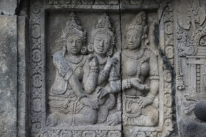 similar type of bas-relief as in Borobudur