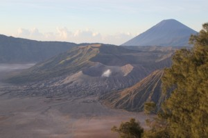 another view of Bromo (just because it is so pretty), with Gunung Semeru in the back