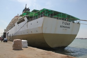 our ship, rust bucket Tidar