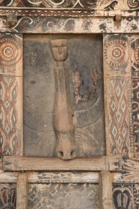 and a carved door, my favourite