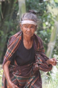 another village lady