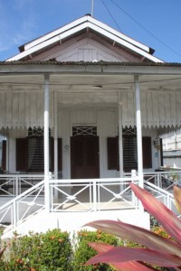 one of the colonial houses